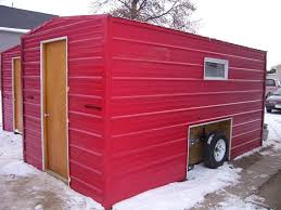 Rent A Tiny House by Relaxshacks Com Modern Ice Fishing Shacks For Rent Tiny House