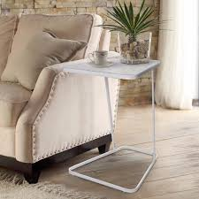 White Toughened Glass Bedroom Furniture Compare Prices On Glass Side Table Online Shopping Buy Low Price