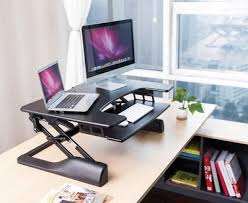 sit stand desks electronically or manually adjustable