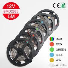 12v Led Light String by 5m Led Strip Light Smd 2835 60led M 300leds Flexible Led Light