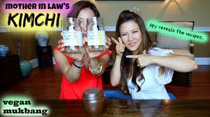 mother in law u0027s kimchi recipe youtube