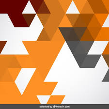 triangle pattern freepik abstract background with terracotta triangles vector free download