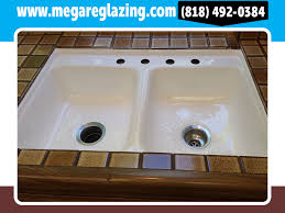 Sink Reglazing Los Angeles California - Reglazing kitchen sink