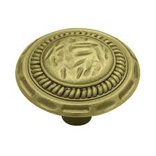 liberty 1 3 8 in antique brass sundial round cabinet knob p775a0h