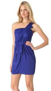 bcbgmaxazria palais one shoulder dress shopbop