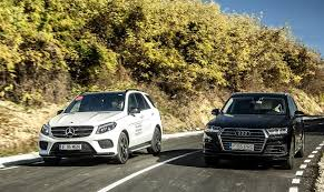audi a7 suv goliath vs goliath 2017 mercedes gle 350 d versus the all