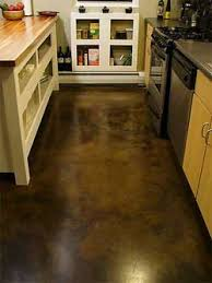 easy to clean kitchen floor materials