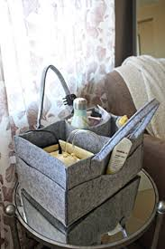 the good baby diaper caddy nursery storage bin and car organizer