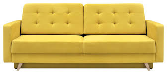 vegas futon sofa bed queen sleeper with storage midcentury