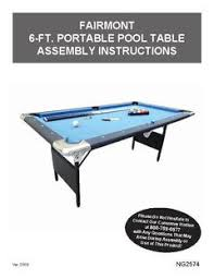 How Much Does A Pool Table Weigh Hathaway Fairmont 6 Ft Portable Pool Table Walmart Com