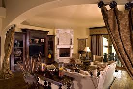 Lowes Scottsdale For A Rustic Family Room With A Tuscan And - Tuscan family room