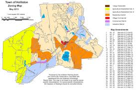 Zoning Map Benefits Of Doing Business In Holliston Ma Holliston Edc