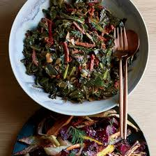 thanksgiving greens recipes food wine