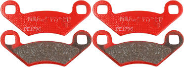 ebc brake pad front kit fa159x for polaris trail blazer 250 2005