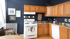 what paint colors go well with honey oak cabinets this is how to deal with honey oak cabinets paint the walls