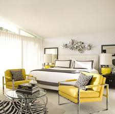 Yellow Grey And White Bedding Yellow And Gray Bedroom Contemporary Bedroom David Jimenez