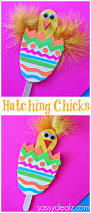 hatching craft using popsicle sticks easter egg easter