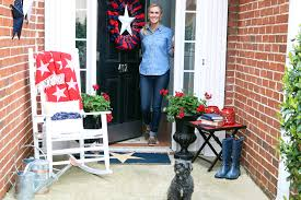 3 ideas for patriotic doorway decor peachfully chic