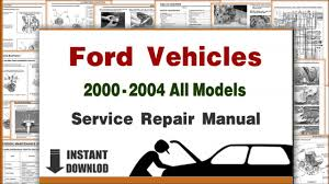 download ford lincoln all models service repair manuals 2000