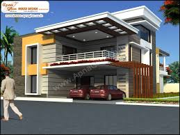 5 bedroom duplex 2 floors house design area 450m2 18m x 25m