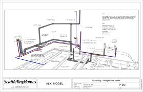 beautiful starter house plans 8 colored plumbing view jpeg