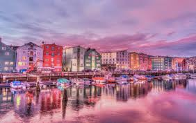 Colorful Pictures Free Stock Photo Of Architecture Boats Buildings