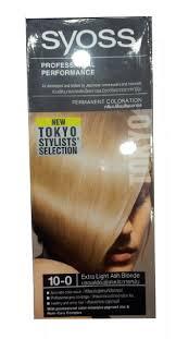 Shoo Syoss buy syoss professional performance color 10 0 light ash