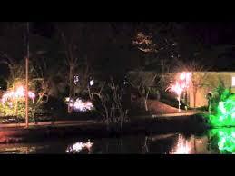 hopeland gardens christmas lights lights at hopeland gardens youtube