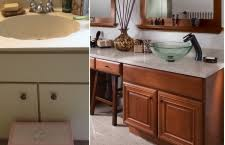 Bathroom Cabinet Refacing Before And After by Granite Transformations Pa Granite U0026 Marble Pennsylvania On Home