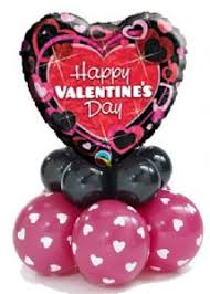 inflated balloon delivery balloon valentines happy valentines balloon stack decor