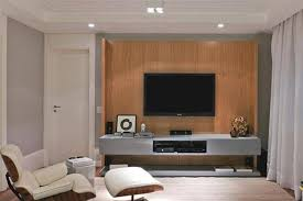 living modern simple living room with tv and luxury sofa set