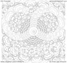 clipart of a black and white coloring page design royalty