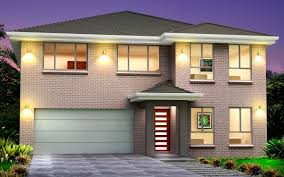 New Home Design New Home Builders Jewel 38 Double Storey Home Designs