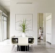 Minimalist Home Design Interior Interior Design Ideas Minimalist White Dining Room Design