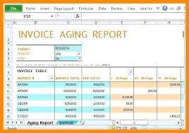 aging report template stunning account receivable template photos resume ideas