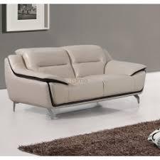 canape 2 place cuir canapés cuir salon 100 cuir design et contemporain meubles elmo