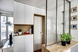 entree en cuisine appartement 8 un 38 m2 refait à neuf par un archi d