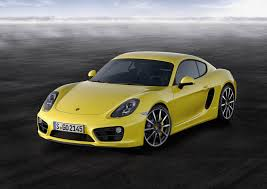 porsche yellow new porsche cayman s yellow front