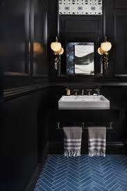 Dark Bathroom by All Black Bathroom Home Design Ideas