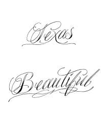 possible tattoo fonts the relevant to one tattoo designs