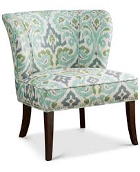 Armless Accent Chair Blue Green Janie Armless Accent Chair Everything Turquoise