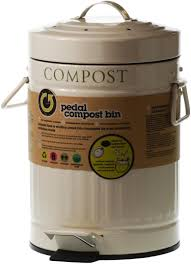 compost canister kitchen inspiring white ceramic compost pail picture of bin for kitchen