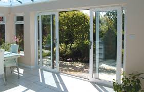 10 Foot Patio Door 4 Panel Sliding Glass Patio Doors