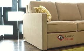 Kalyn Comfort Sleeper Kingsley Fabric Multiple Sizes Available By American Leather Is