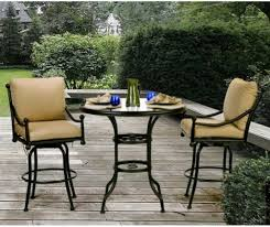 Patio Table Glass Top Chic And Stylish Tall Patio Table U2013 Outdoor Decorations