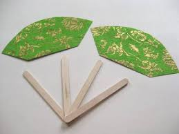 how to make a fan how to make easy paper fans with kids