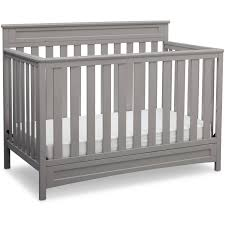 Convertible Cribs Walmart by Delta Children Geneva 4 In 1 Convertible Crib Gray Walmart Com