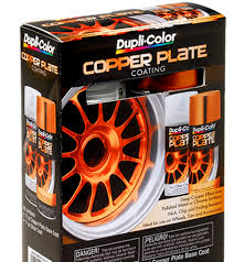 copper plate coating aerosol kit dupli color