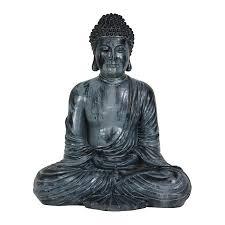 shop oriental furniture resin japanese sitting buddha statue at