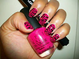 14 pink nails with designs 50 beautiful pink and black nail